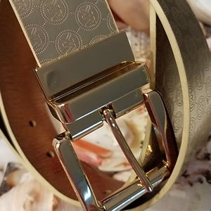 Michael Kors Gold Color Belt
